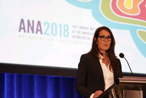 Newswise: Susan Schneider Williams addresses ANA Presidential Symposium; Recounts struggle to diagnose late husband's Lewy body dementia