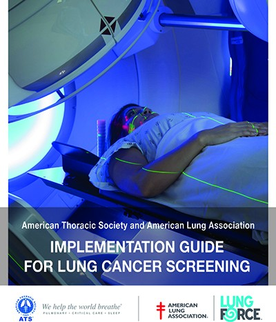 Am Thoracic Society and ALA launch lung cancer screening implementation guide website.