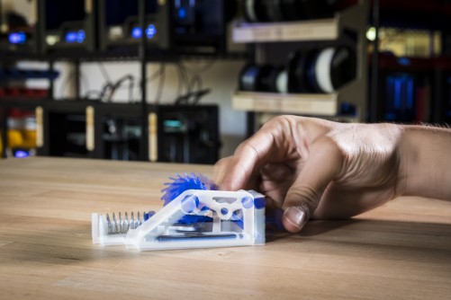 Newswise: Researchers Develop 3-D Printed Objects That Can Track and Store How They Are Used