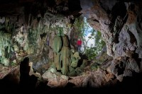 Newswise: Beneath the surface: Geography students cave in Cuba