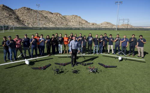 Newswise: Progress of Unmanned Aerial Systems Program at UTEP is Soaring