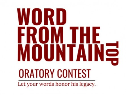 "Newswise: ""Word from the Mountaintop"" Martin Luther King Jr. Oratory Contest seeks local students"