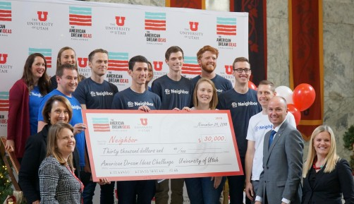 Newswise: Top Three Finalists Announced in University of Utah's American Dream Ideas Challenge