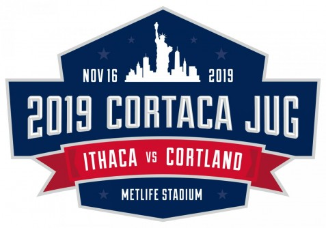 Newswise: Ithaca College and SUNY Cortland to Play 2019 Cortaca Jug Football Game at MetLife Stadium